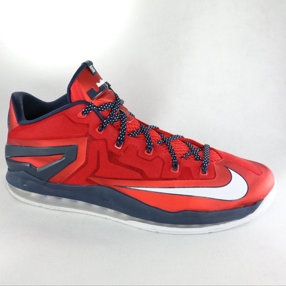 81e28c8d487a 2014 NIKE LeBron Max XI Low Independence Day Shoes.  M 5c3bf7b0aaa5b84c084f241a